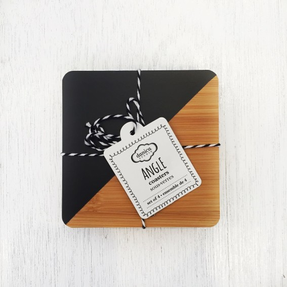 Twig-and-feather-angle-coasters-black-and-white
