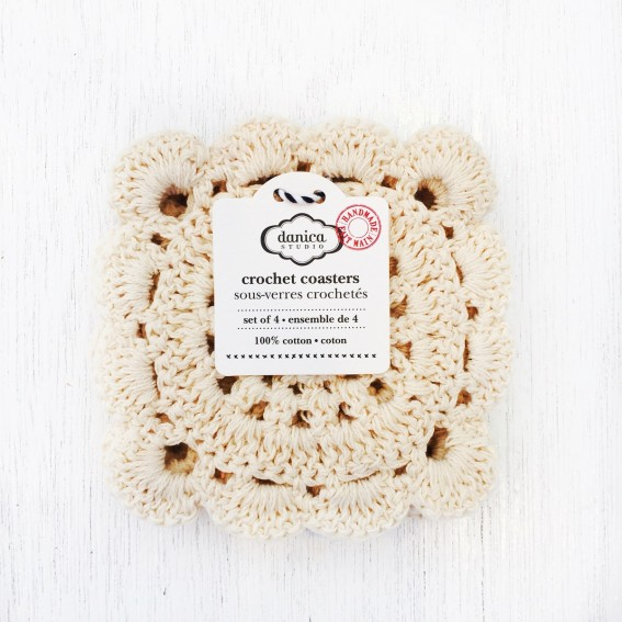 Twig-and-feather-natural-crochet-coasters