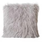 Grey Faux Fur cushion