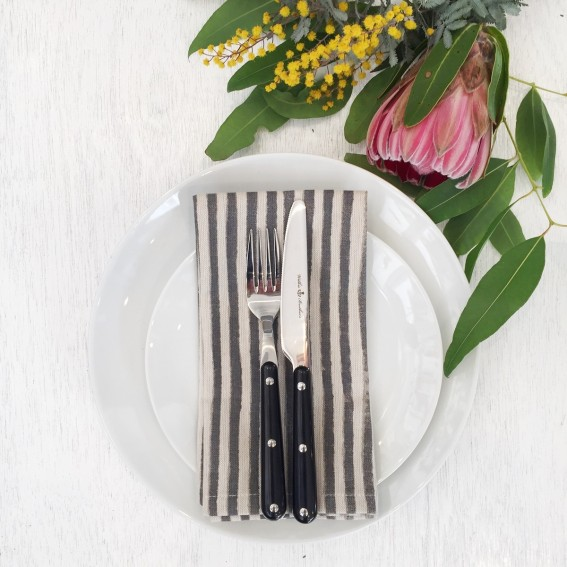 Twig-and-feather-napkins-stripe-charcoal