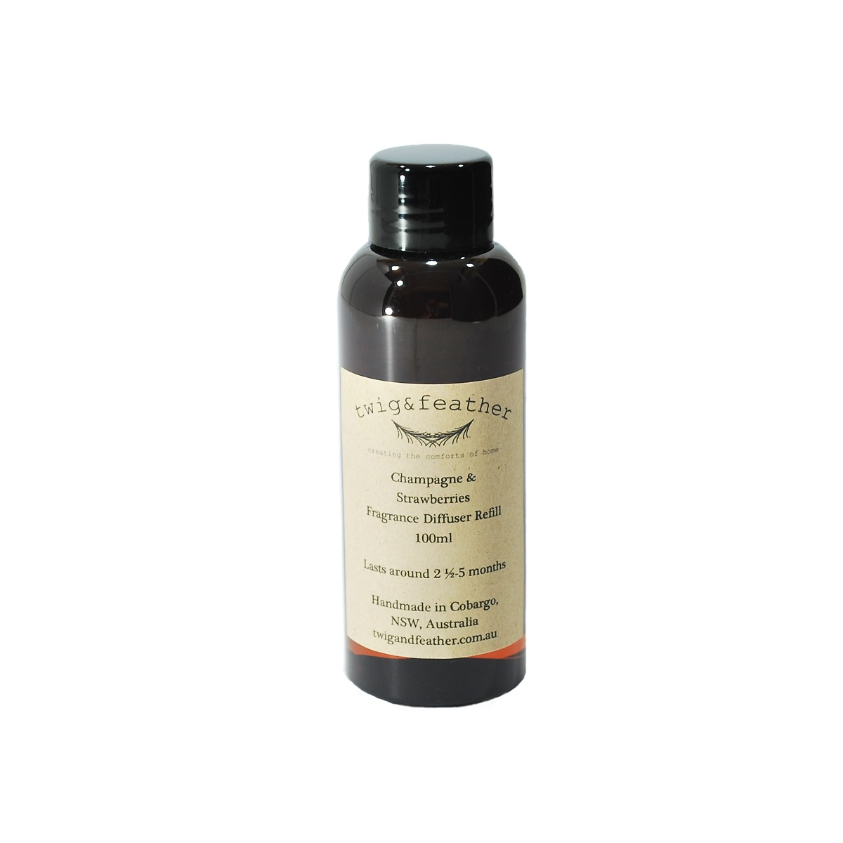 Champagne And Strawberries Fragrance Diffuser Refill
